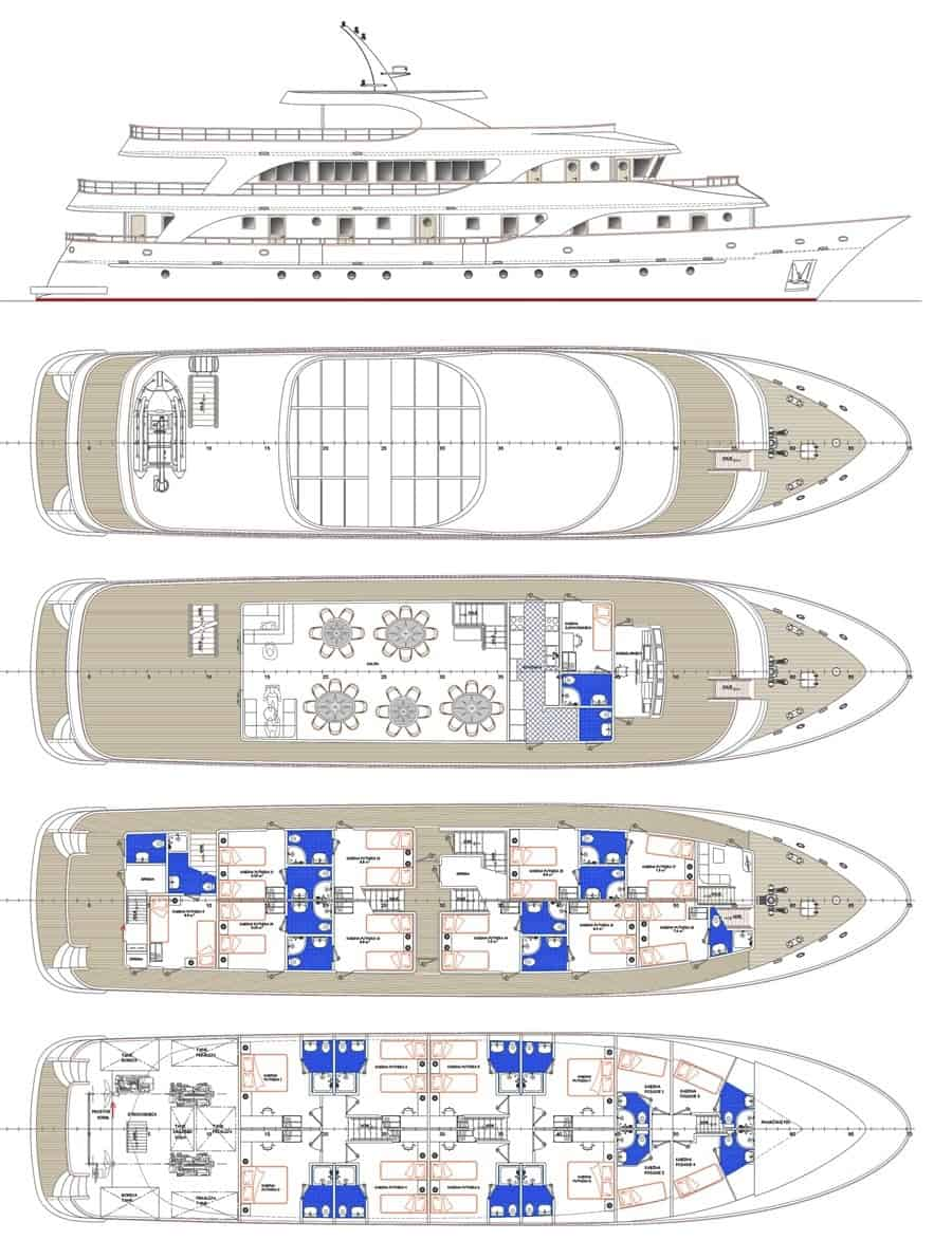MV Moonlight Deck Plan