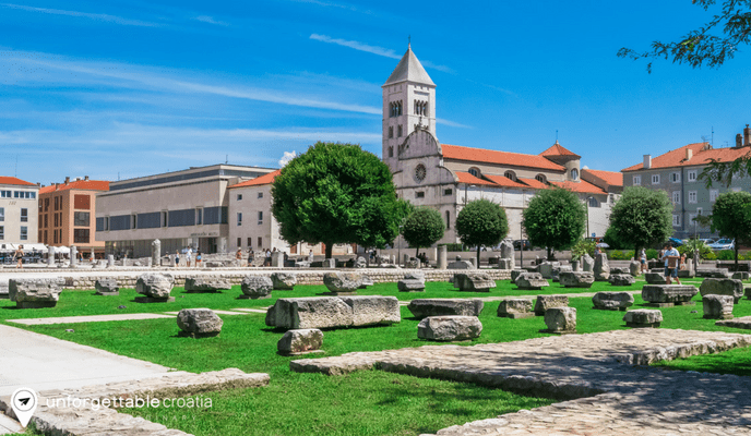 Gold & Silver Museum in St Mary's Monastry, Zadar