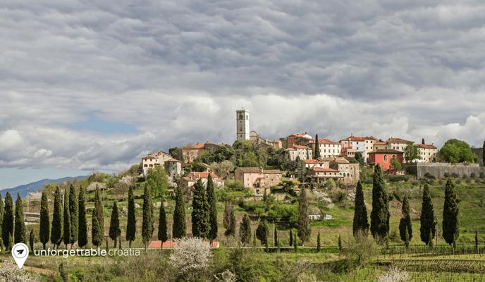 Oprtalj, Istria, Croatia