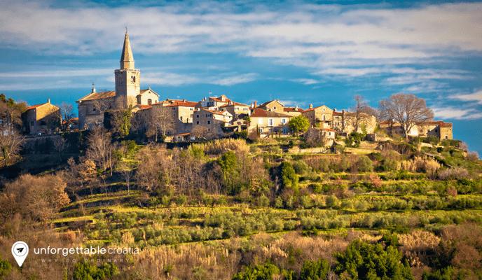 Groznjan, Istria, Croatia