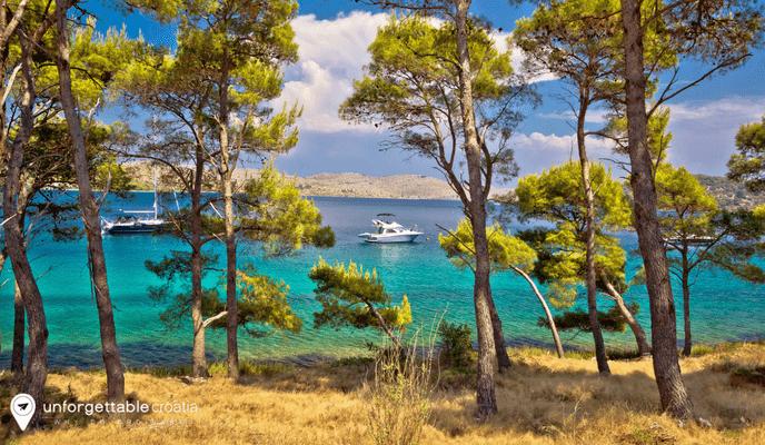 Telascica Bay Nature Park, Dugi Otok, Croatia