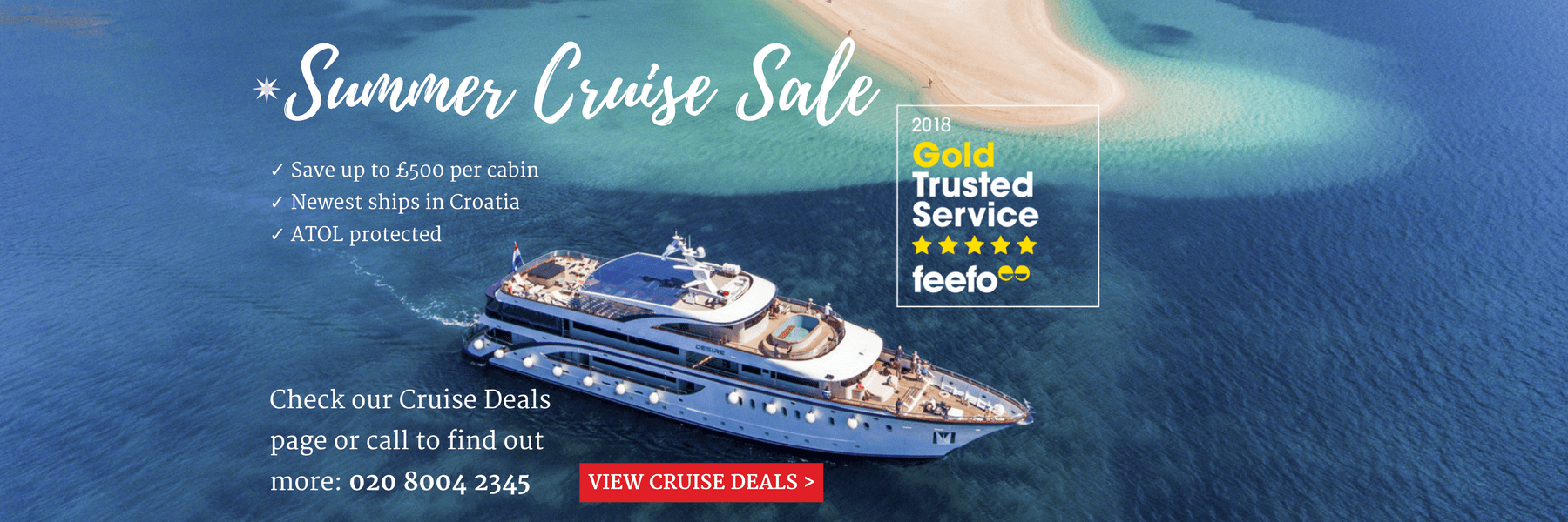 Summer Croatia Cruise Sale
