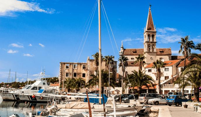Milna, Brac Island, Cruise Croatia