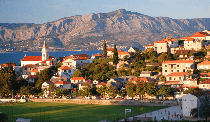 Postira, Brac Island, Cruise Croatia