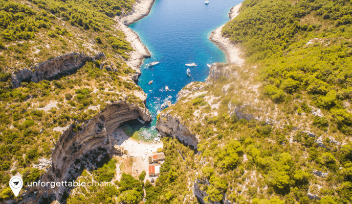 Stiniva, Vis island, Unforgettable Croatia