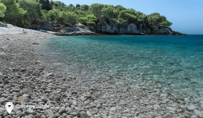 Srebrna beach, Vis island, Unforgettable Croatia