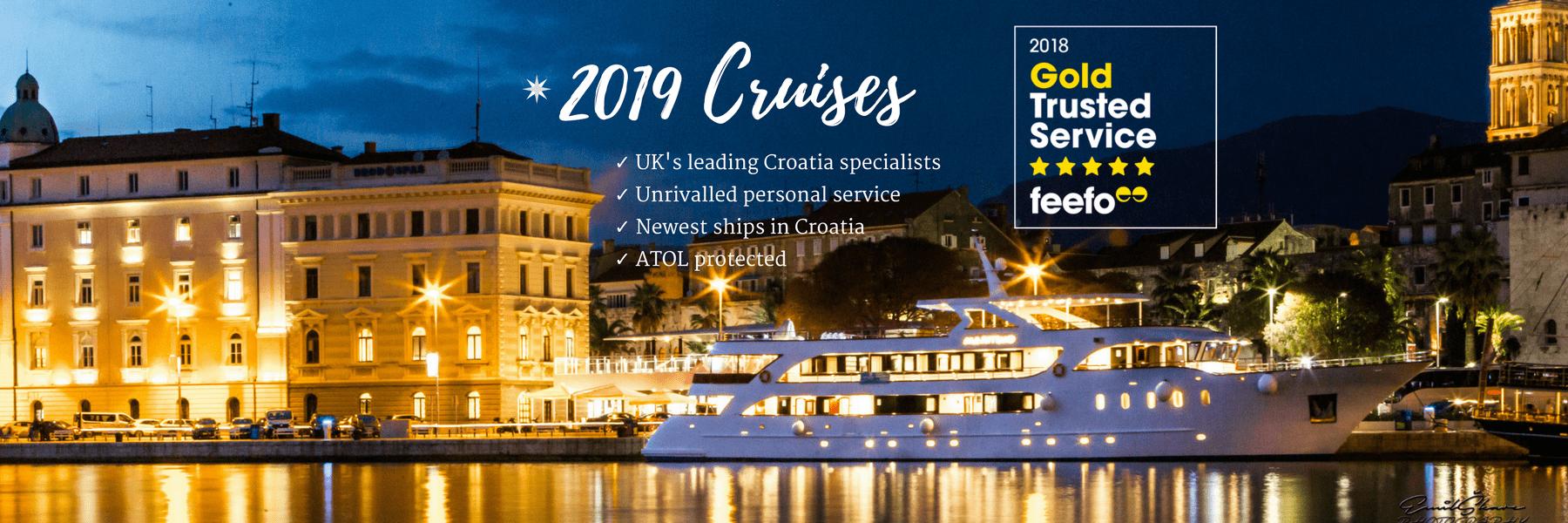 2019 Croatia Cruises