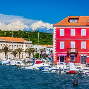 Adriatic coast island Hvar, Croatia