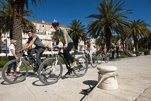 Cycling in Split, Croatia