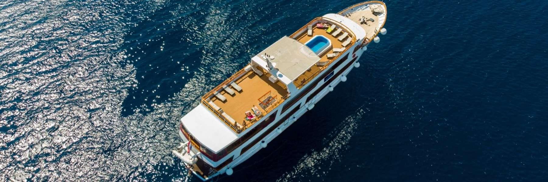 MV Aurora Cruise ship Croatia