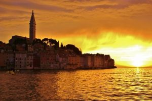 Rovinj sunset, Istria, Croatia