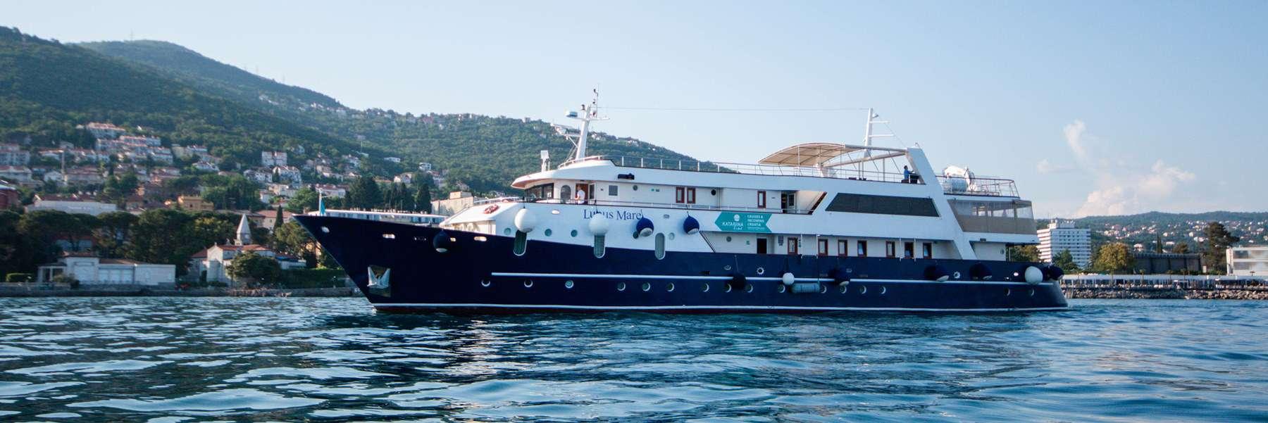 Lupus Mare, Cruise ship Croatia