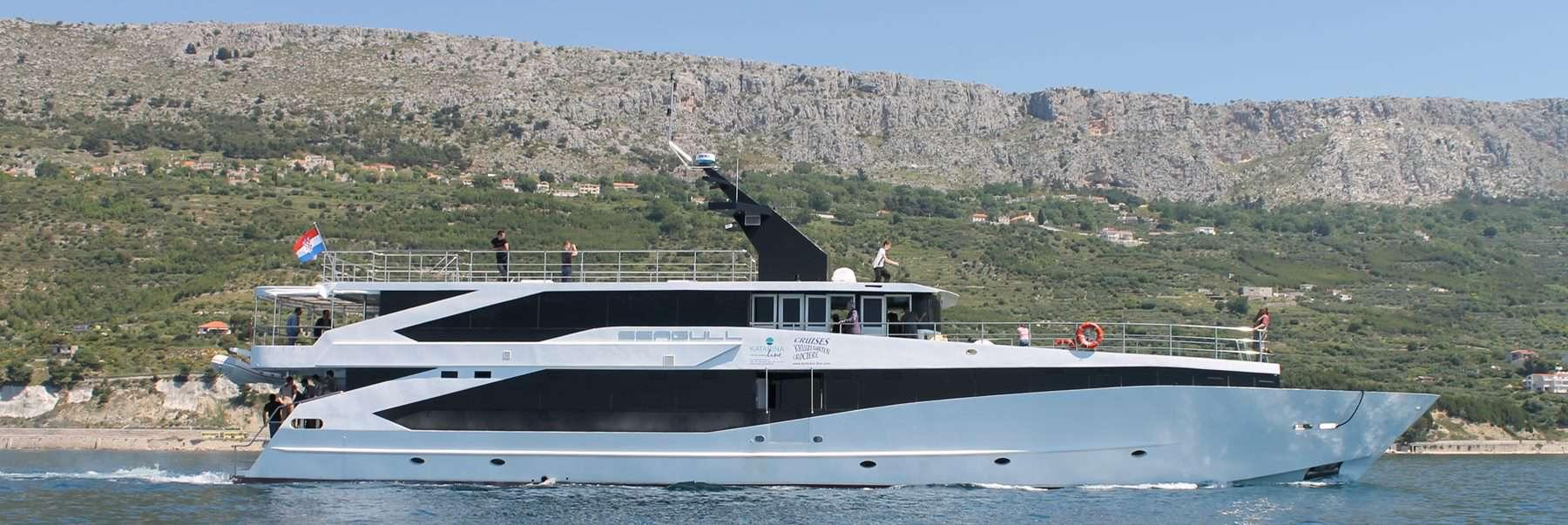 Seagull Cruise Shipm, Croatia