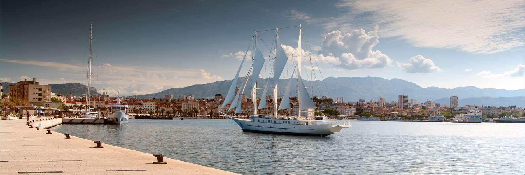 MY Klara, Cruise ship, Croatia