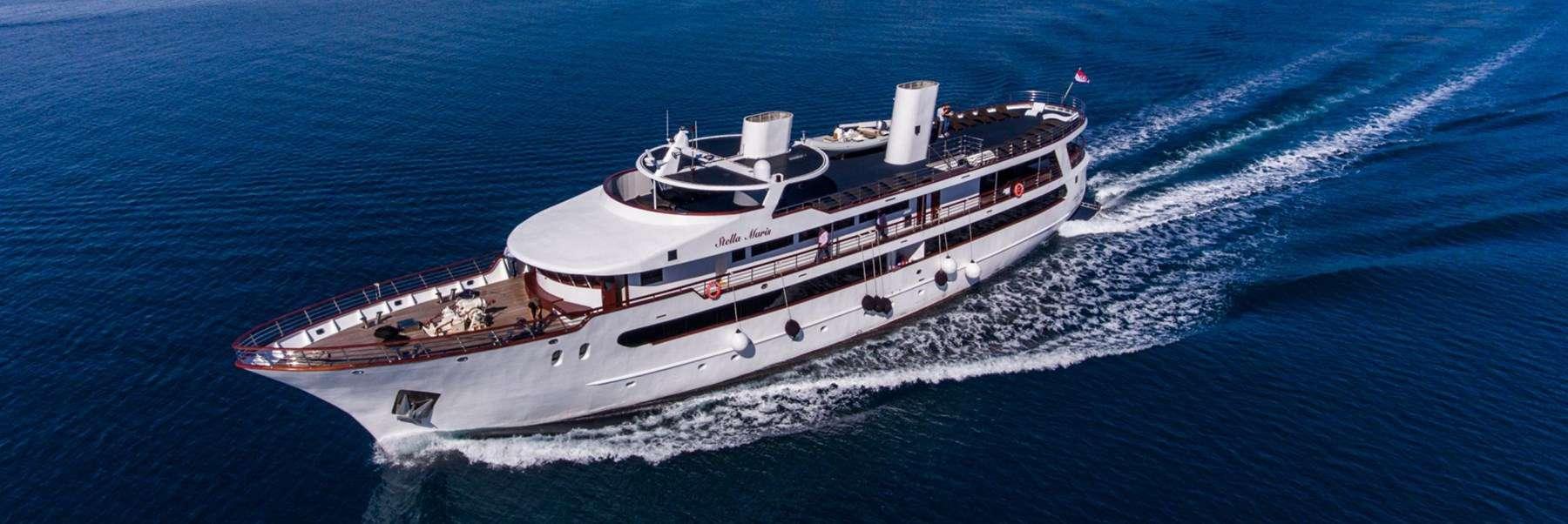 MS Stella Maris Cruise ship, Croatia