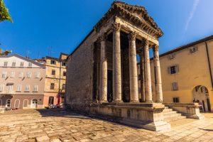 Augustus temple, Pula, Croatia