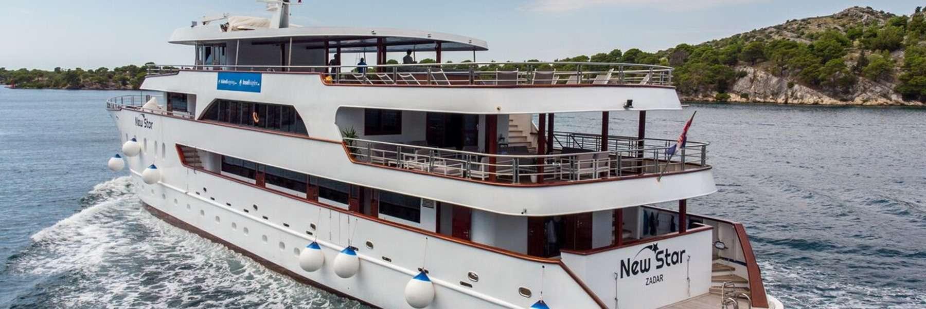 MV New Star, cruise ship, Croatia
