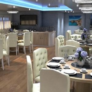 MS Ambassadro dining area