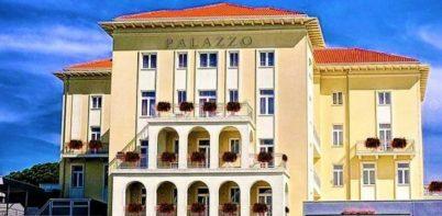 Grand Hotel Palazzo entrance