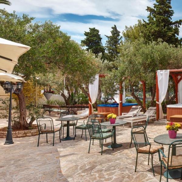 Hotel Adriatica terrace