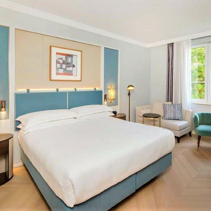 Hotel Hilton Imperial, Dubrovnik double bedroom