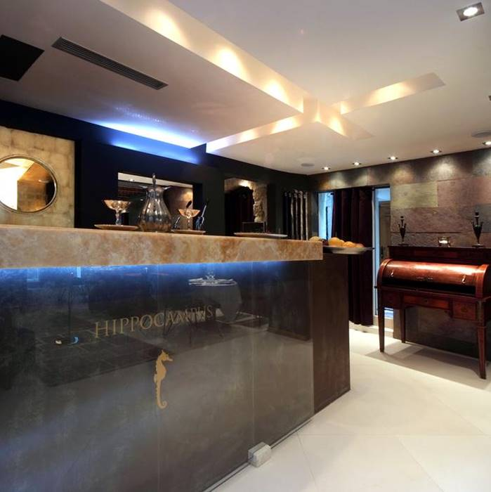 Boutique Hotel Hippocampus, Kotor indoor bar