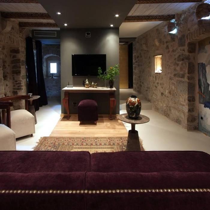Boutique Hotel Hippocampus, Kotor TV indoor lounge