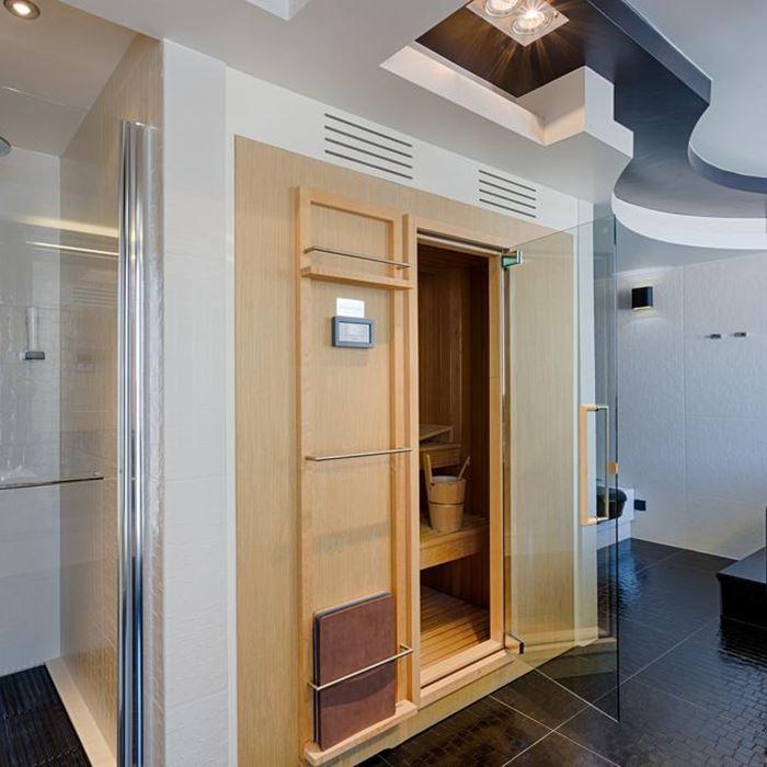 Hotel Damianii, Omis room indoor sauna