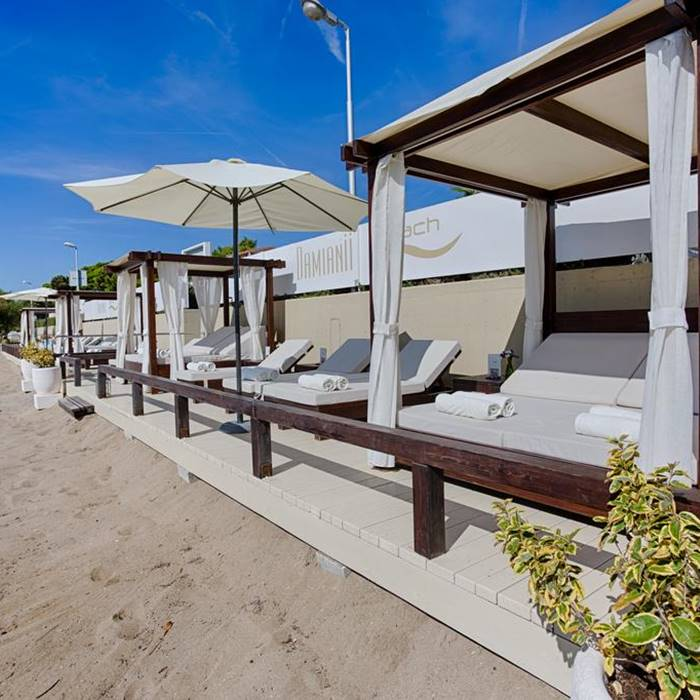 Hotel Damianii, Omis beach front lounge