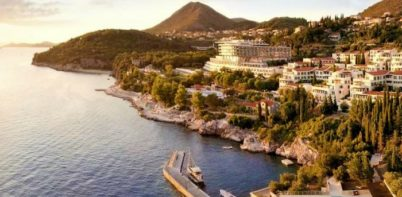 Radisson Blu, Sun Gardens Dubrovnik full aerial view