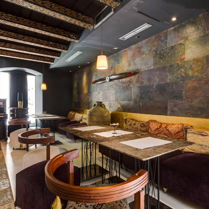 Boutique Hotel Hippocampus, Kotor indoor dining area