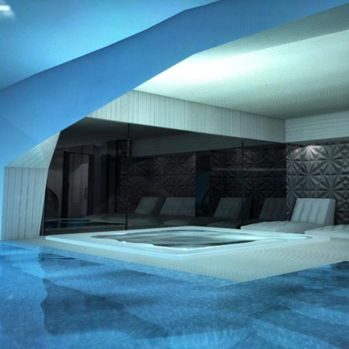 Hotel Damianii, Omis indoor spa and lounge relax beds