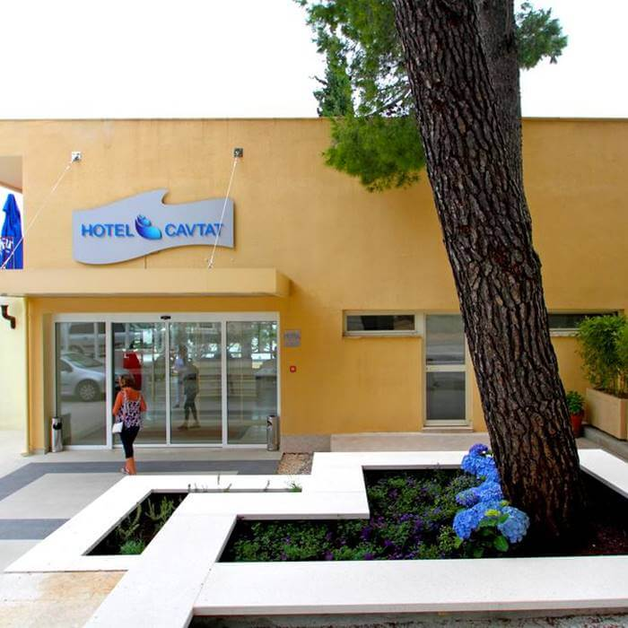 Hote Cavtat, Cavtat hotel entrance