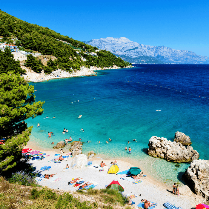 Croatia beach