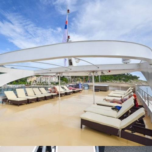 MS Majestic sun deck