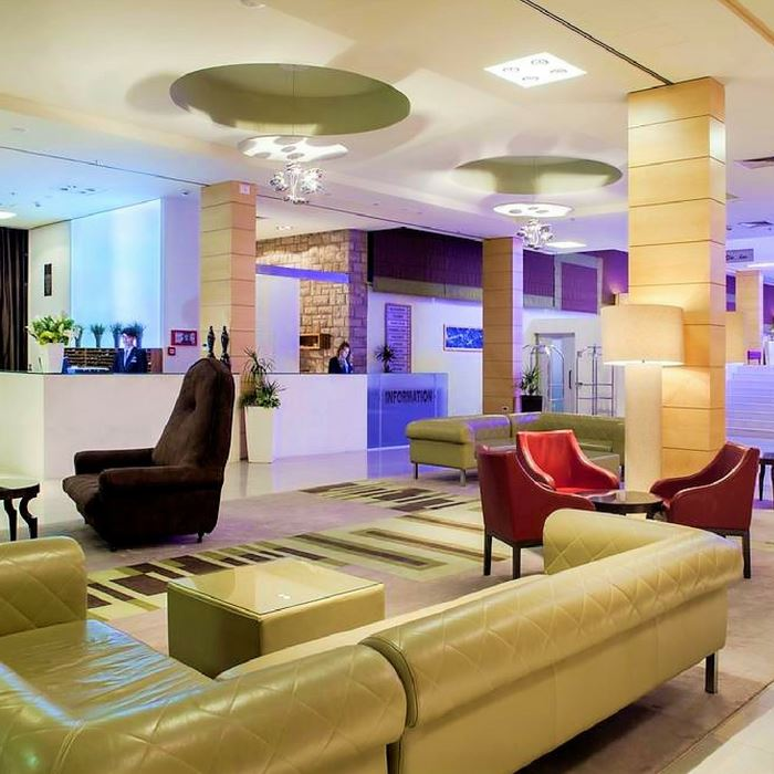 Bluesun hotel Elapusa, Bol lounge and modernist reception