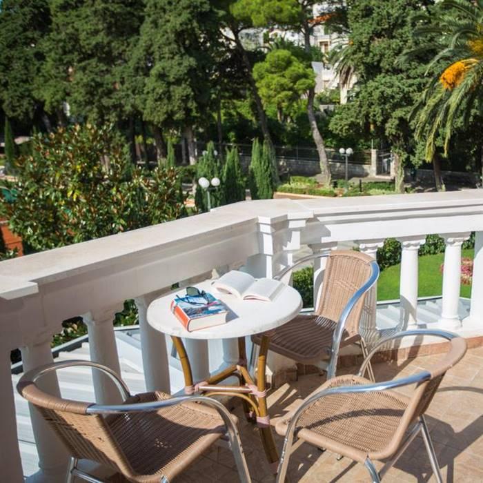 Hotel Zagreb, Dubrovnik room balcony view