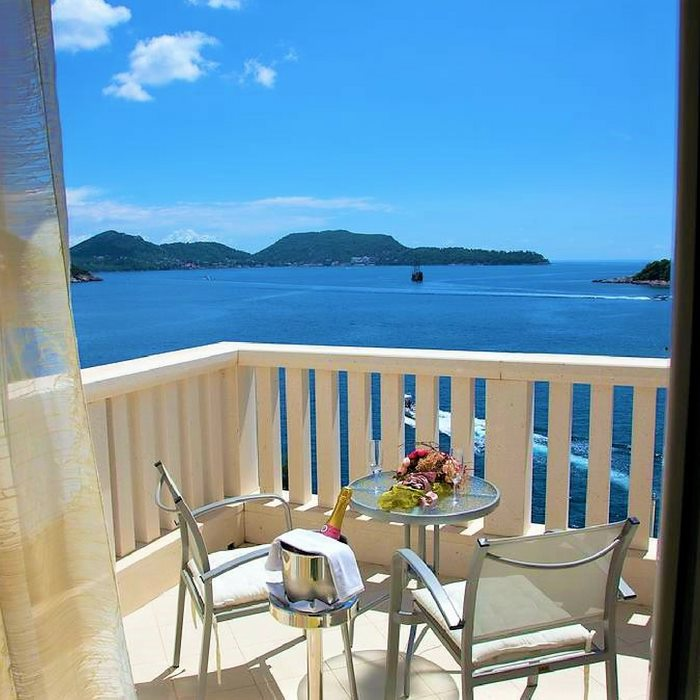 Hotel Bozica, Sipan island room balcony with sea view