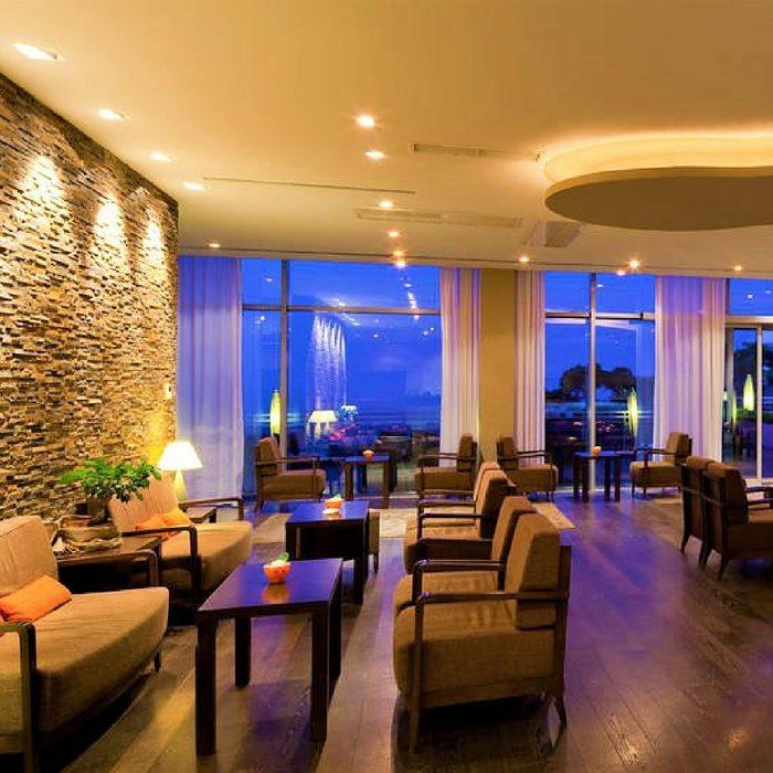 Hotel Bellevue, Duborvnik indoor dining area
