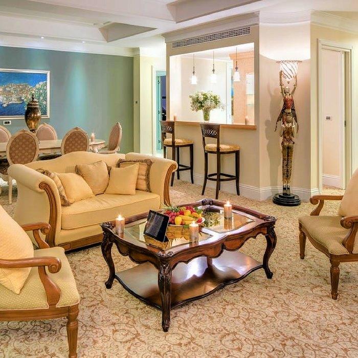 Hotel Royal Princess, Dubrovnik indoor reception lounge area