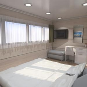 MS Ambassador cabin