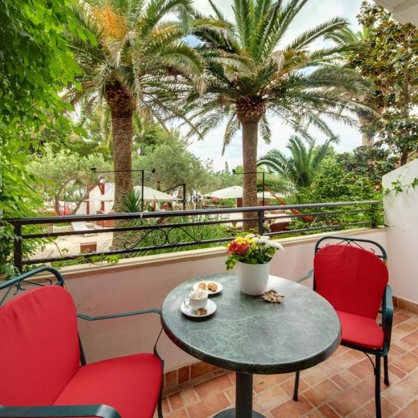 Hotel Adriatica balcony