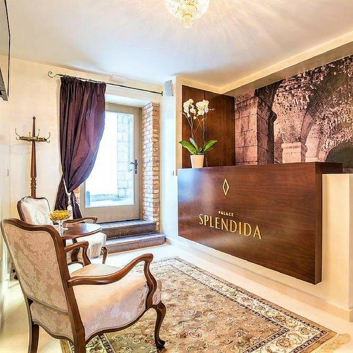 Splendida Palace Hotel, Split reception area