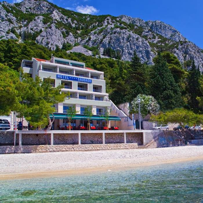 Hotel Park, Makarska full sea view