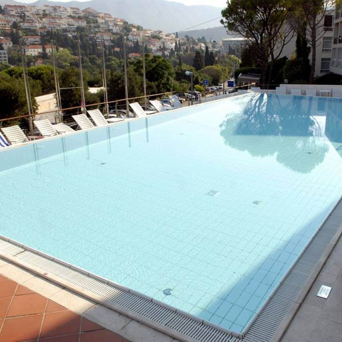 Hotel Uvala, Dubrovnik outdoor pool