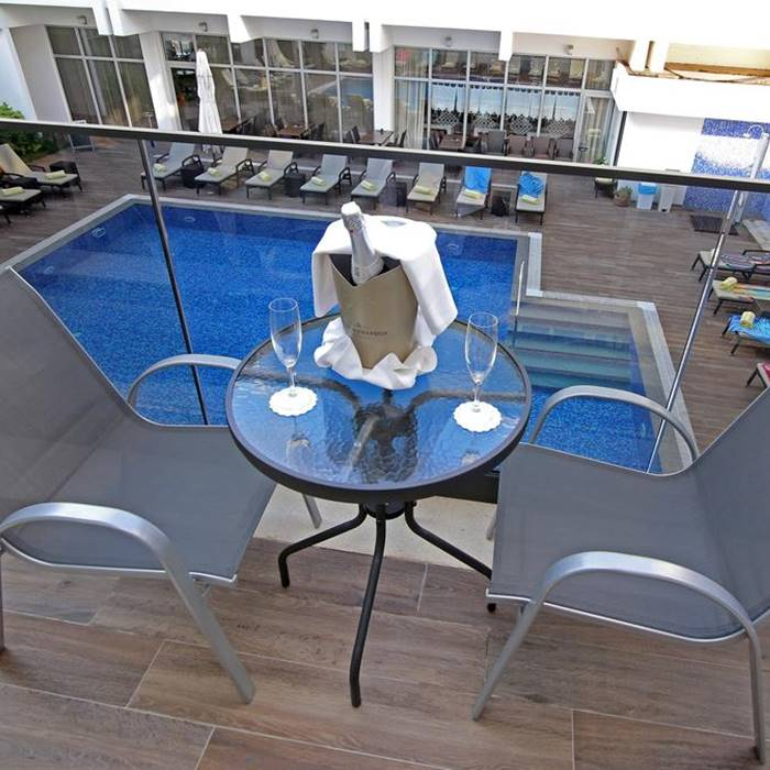 Hotel Lero terrace