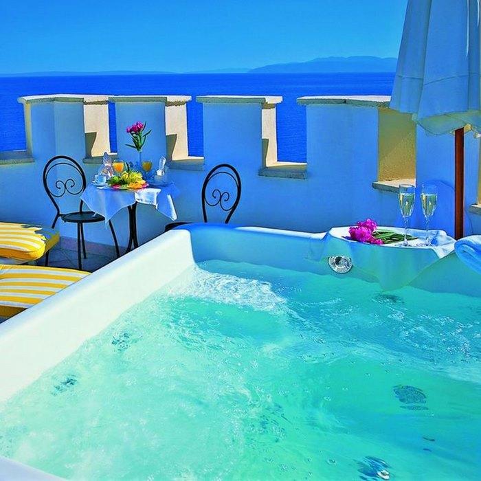 Hotel Miramar jacuzzi
