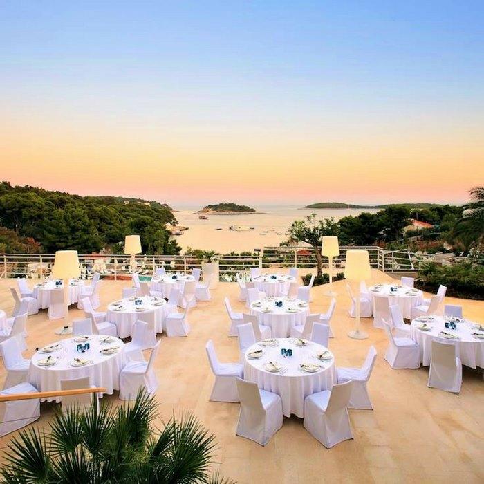 Hotel Amfora terrace