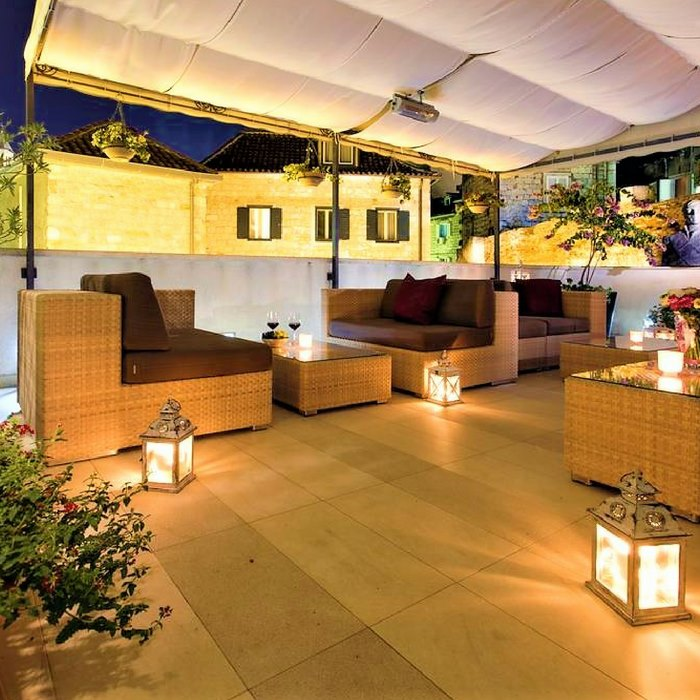 Hotel Marmont, Split rooftop relaxation and seating