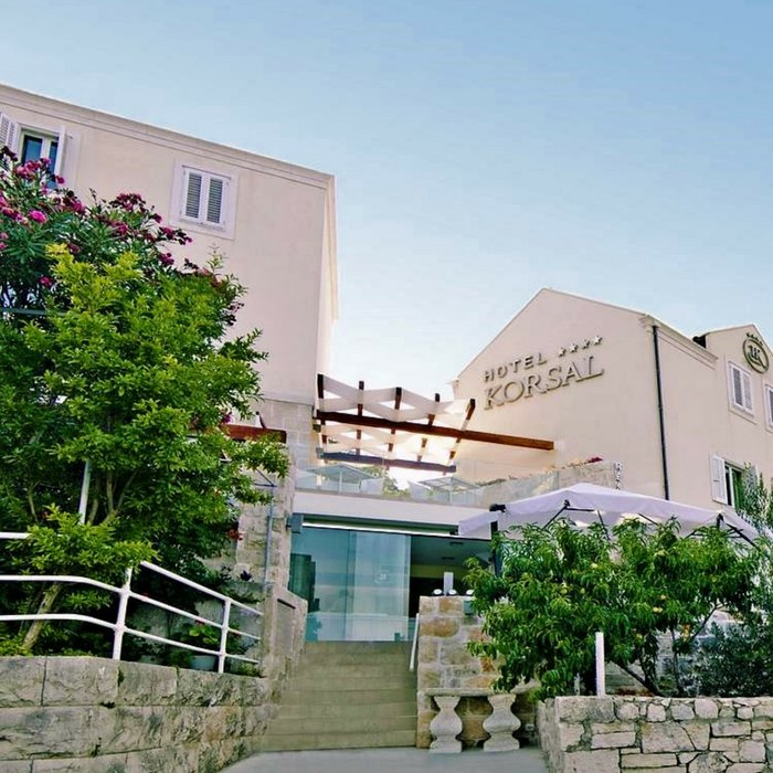 Hotel Korsal, Korcula hotel entrance